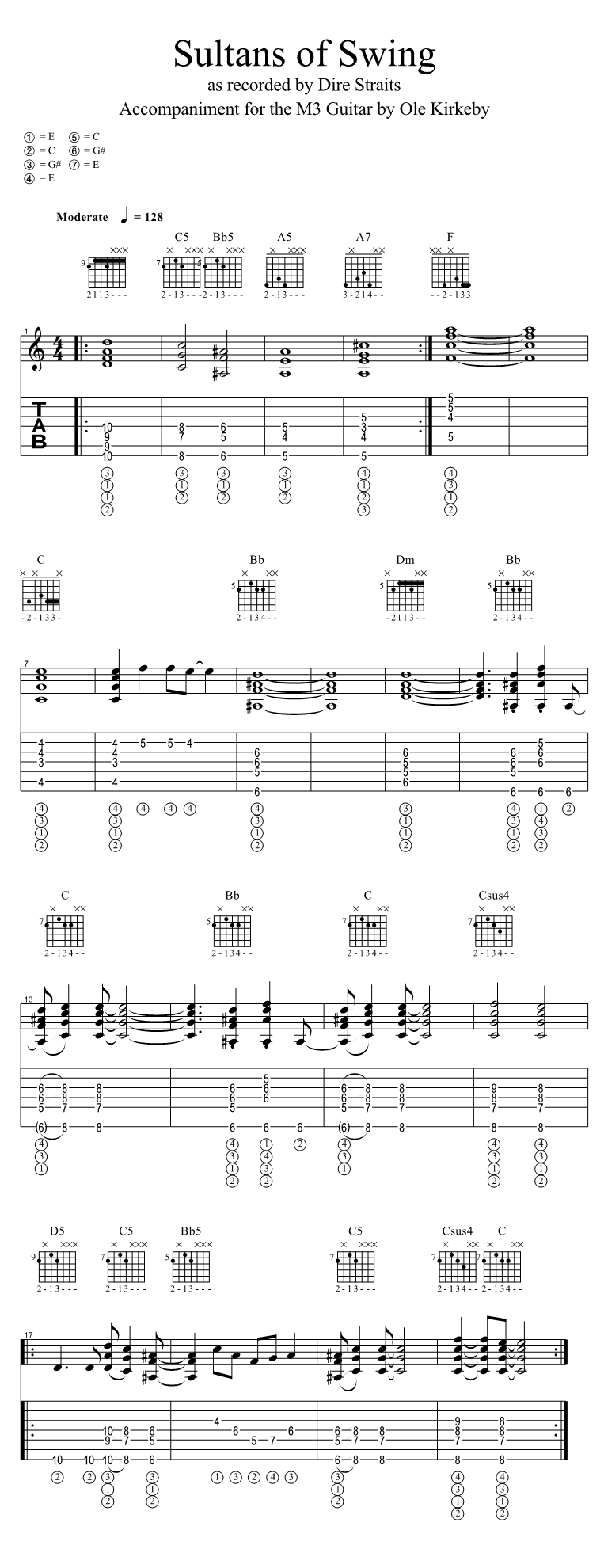 M3 Guitar 2 0 Accompaniment Strumming